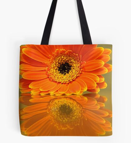 Double Orange Tote Bag