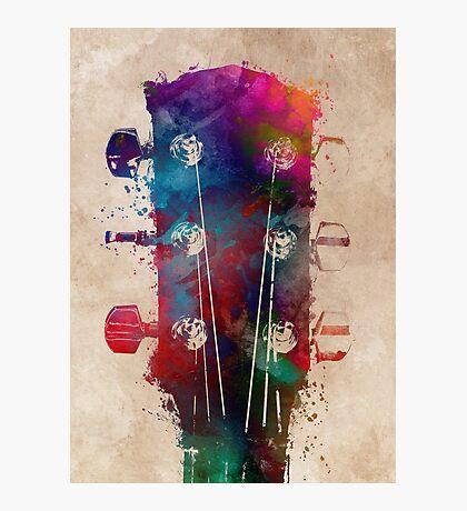 guitar art 5 #guitar #music Photographic Print