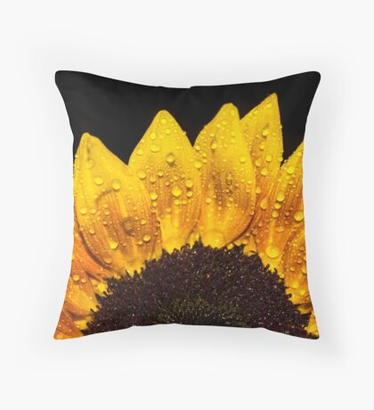 Happiness is Yellow Throw Pillow