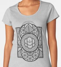 Ultra Sacred Geometry Women's Premium T-Shirt
