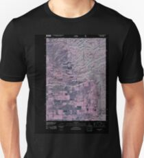 USGS TOPO Map Idaho ID Clawson 20110107 TM Inverted Unisex T-Shirt