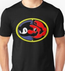 Sonic and Mario 3D T-Shirt
