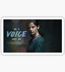 Be a voice Molly Hooper Sticker