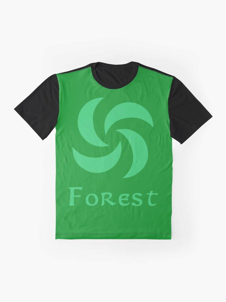 Alternate view of Sage Medallion - Forest Graphic T-Shirt
