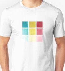 Color Swatch Plaid Watercolor T-Shirt