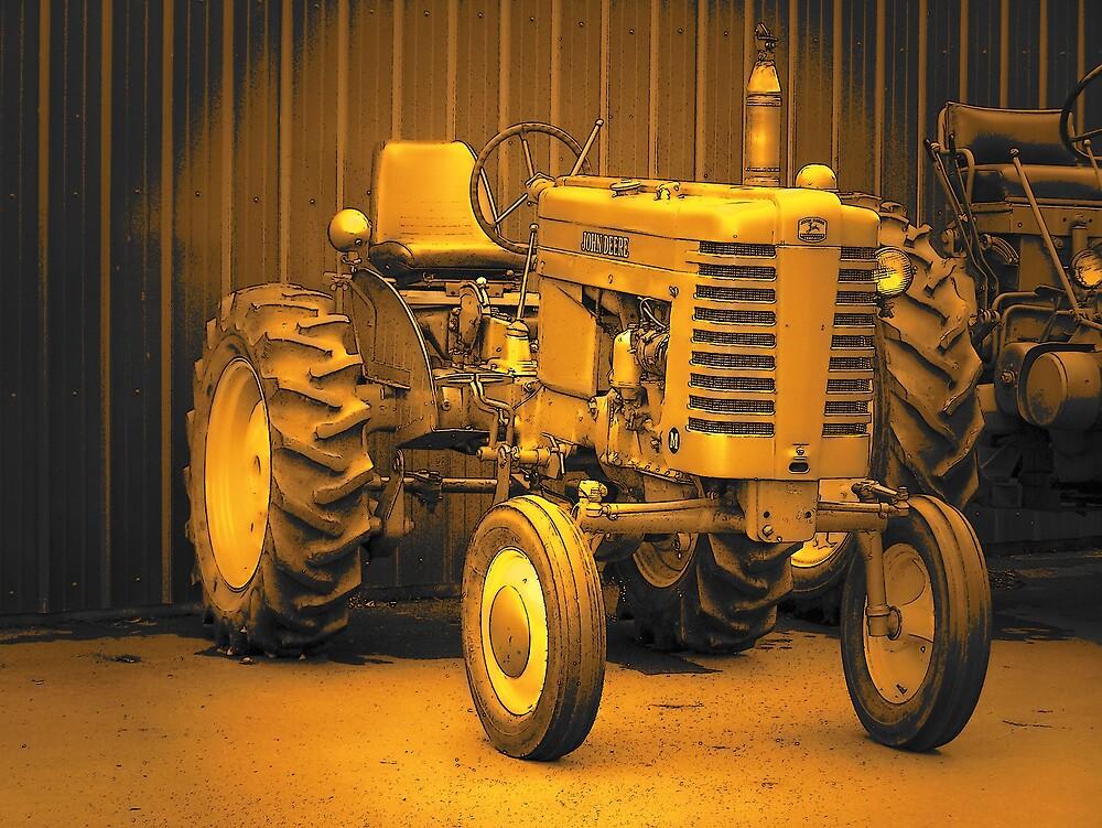 Tractor by Gene Cyr