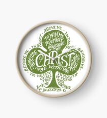 Saint Patrick's Breastplate Clock