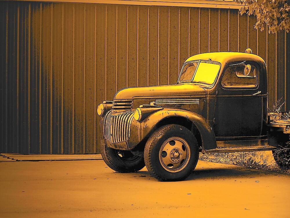 Antique Truck by Gene Cyr