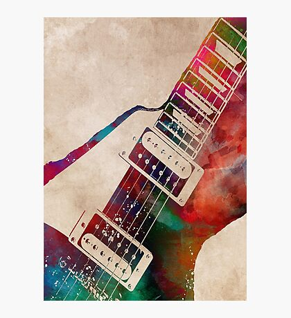 guitar art 7 #guitar #music Photographic Print