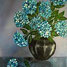 Hydrangeas by Avril Brand