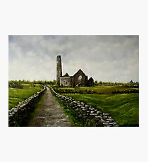 """Scattery Island Ruins - County Clare, Ireland"" Photographic Print"