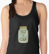 Yes I Can Canning Season Design for Garden Farmers Women's Tank Top