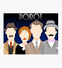 Minimalist Poirot Photographic Print