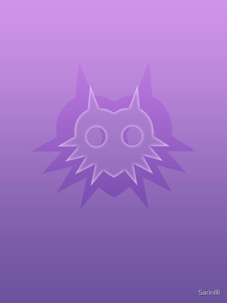 La sombra de Majora en púrpura de Sarinilli