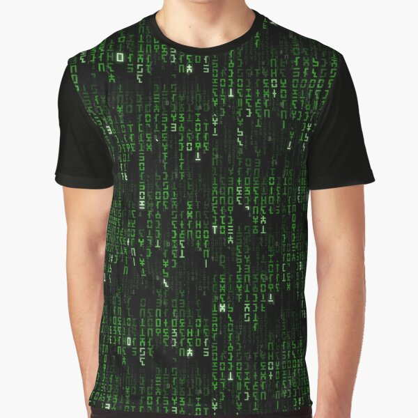 Hylian Matrix Graphic T-Shirt