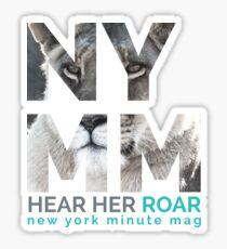 NYMM Lioness Sticker