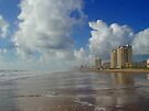 The Beach at South Padre Island by Cathy Jones