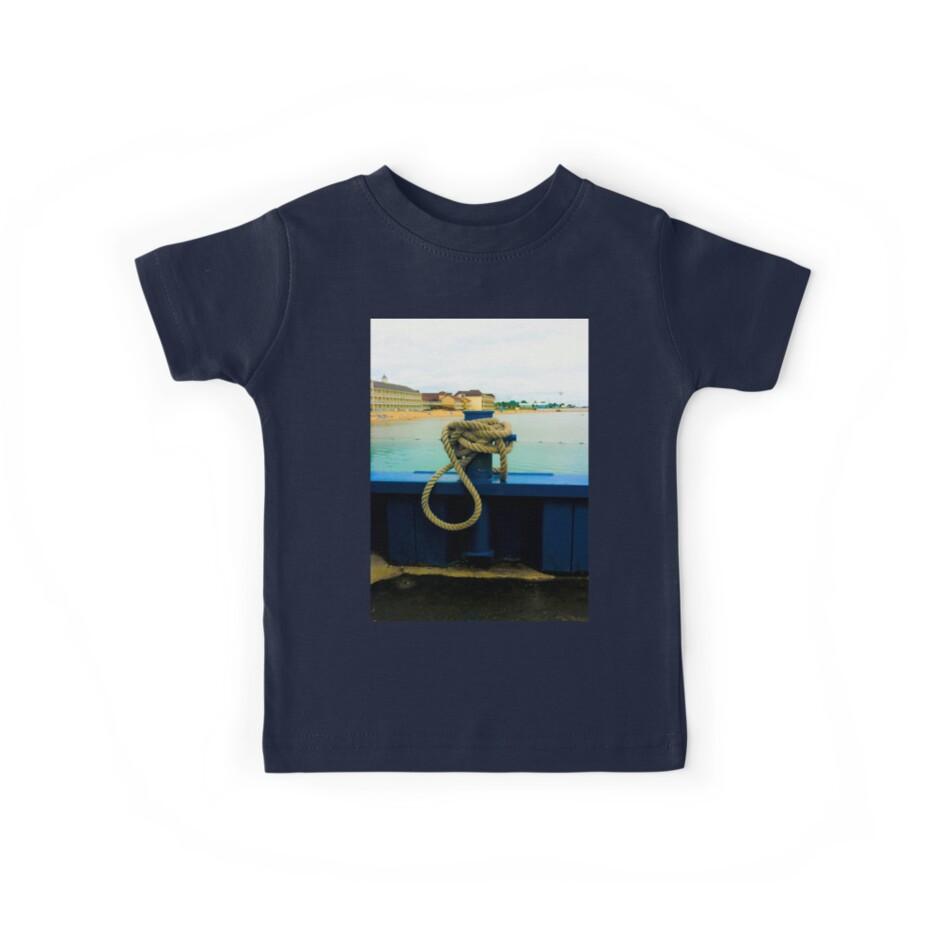 Camisetas para niños «Nudo de cuerda náutica» de Nalinne Jones ...