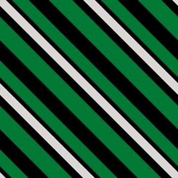 Stripes - Green and Silver by Sarinilli