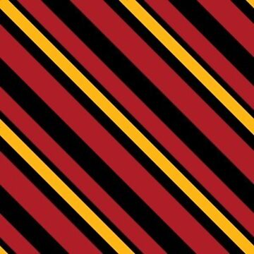 Stripes - Red and Gold by Sarinilli