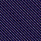 Stripes (Small) - Blue and Bronze by Sarinilli