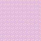 Sakura - pink on lavender checker by Sarinilli