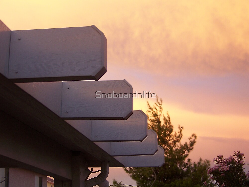 Skies Over My Roof by Snoboardnlife