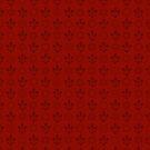 Steampunk Flur in Red by Sarinilli