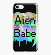 Alien Babe iPhone Case/Skin