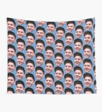 Andy Face Wall Tapestry