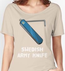 Swedish Army Knife Women's Relaxed Fit T-Shirt