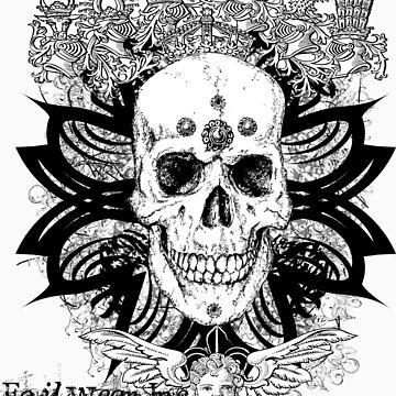 Tribal Skull by Foil
