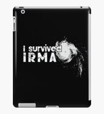 I Survived Hurricane Irma iPad Case/Skin