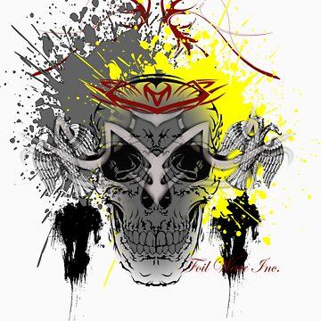 Crazy Skull by Foil