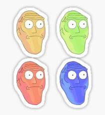 Rick and Morty - Giant Head STICKER PACK Sticker