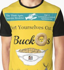 Buckos Breakfast Cereal Jordan Peterson meme Graphic T-Shirt