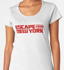 Escape from New York (1981) Movie Women's Premium T-Shirt