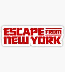 Escape from New York (1981) Movie Sticker