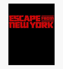 Escape from New York (1981) Movie Photographic Print