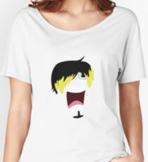 Scared Sanji (minimal) Women's Relaxed Fit T-Shirt