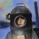 Heroine - Vintage Dada Digital Art by Galen Valle