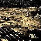 Mixed Motorways - Bowen Hills, Brisbane by melodyart