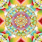 Bijoux Ombre Mandala by PatriciaSheaArt