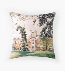 Alma Mater  Throw Pillow
