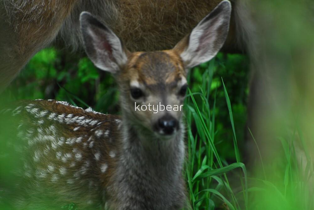 Portrait of Bambi by kotybear