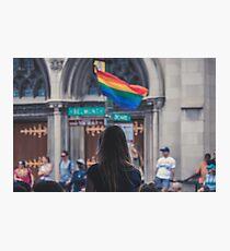 Gay Pride Parade Photographic Print