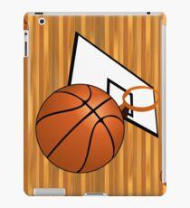 Basketball with Hoop iPad Case/Skin
