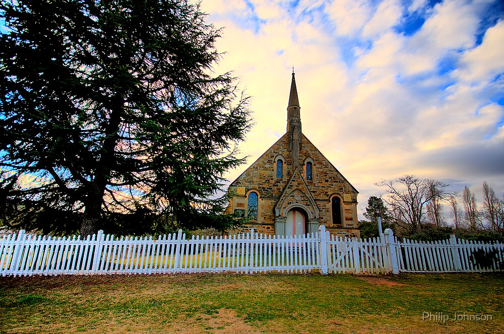 Souls In The Sky - Hill End - The HDR Series by Philip Johnson