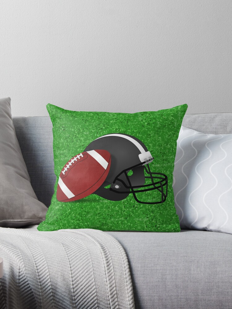 Football Helmet  with Football  by Gravityx9