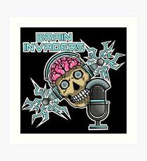 Brain Invaders Art Print